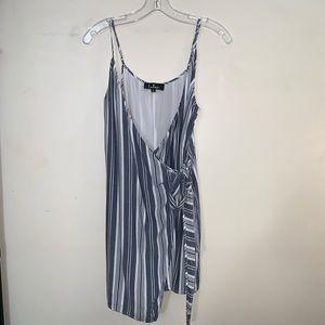 Lulus striped dress